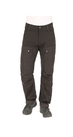 Fjällräven Keb Trousers long Men black/dark grey